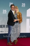 """25kmh"", Tobey Wilson und Sabrina Gehrmann, Roter Teppich zur Premiere, CineStar am Sony Center, Berlin, 25.10.2018 (Photo: Christian Behring)"