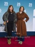 """""""25kmh"""", Carolina Vera und ?, Roter Teppich zur Premiere, CineStar am Sony Center, Berlin, 25.10.2018 (Photo: Christian Behring)"""