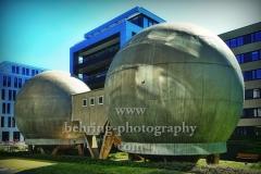 "Isothermische Kugellabore am Europa-Center, ""STADTANSICHTEN"",  Am Studio 1a, Berlin, 09.05.2020"
