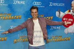 """Louis Held, """"Alfons Zitterbacke"""", Roter Teppich zur Berlin-Premiere im Kino in der Kulturbrauerei, Berlin, 07.04.2019"""