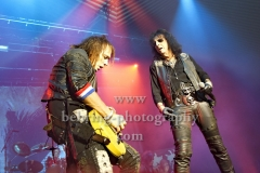 """ALICE COOPER"", ""Spend the Night with Alice Cooper""-Tour, Konzert im Tempodrom, Berlin, 23.11.2017,"