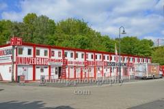 "Stadion An der Alten Försterei, Spielstätte des 1. FC Union Berlin, Zeughaus mit Fanshop, ""STADTANSICHTEN"", An der Wuhlheide 263, Berlin, 07.05.2020"