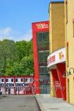 """Stadion An der Alten Försterei, Spielstätte des 1. FC Union Berlin, Blick Richtung Zeughaus, """"STADTANSICHTEN"""", An der Wuhlheide 263, Berlin, 07.05.2020"""