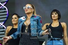 """Anastacia"", ""STARS for free"", in der Parkbuehne Wuhlheide, Berlin, 18.08.2018,"