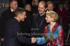 "Volker Bruch, Godehard Giese, Janina Agnes Schroeder, ""BABYLON BERLIN 3"", Roter Teppich zur Weltpemiere, Zoo Palast, Berlin, 16.12.2019"
