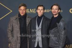"""Tom Wlaschiha, Rick Okon, August Wittgenstein, """"BABYLON BERLIN 3"""", Roter Teppich zur Weltpemiere, Zoo Palast, Berlin, 16.12.2019"""