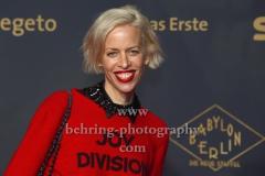 """Katja Eichinger, """"BABYLON BERLIN 3"""", Roter Teppich zur Weltpemiere, Zoo Palast, Berlin, 16.12.2019"""