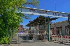 """Bärenquell Brauerei, Ruine der ehemaligen Brauerei Borussia in Niederschöneweide, """"STADTANSICHTEN"""", Schnellerstrasse 136 - 137, Berlin, 09.05.2020"""