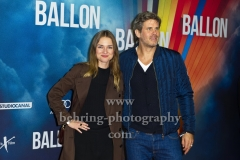 """BALLON"", Josephin Busch, Steffen Groth, Roter Teppich zur Berlin-Premiere am ZOO PALAST, Berlin, 13.09.2018 (Photo: Christian Behring)"
