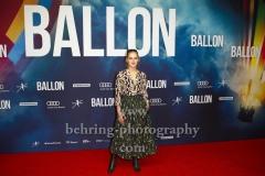 """BALLON"", Alicia von Rittberg, Roter Teppich zur Berlin-Premiere am ZOO PALAST, Berlin, 13.09.2018 (Photo: Christian Behring)"