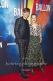 """BALLON"", David Kross, Alicia von Rittberg, Roter Teppich zur Berlin-Premiere am ZOO PALAST, Berlin, 13.09.2018 (Photo: Christian Behring)"