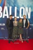"""BALLON"", Friedrich Muecke, Karoline Schuch, David Kross, Alicia von Rittberg, Roter Teppich zur Berlin-Premiere am ZOO PALAST, Berlin, 13.09.2018 (Photo: Christian Behring)"