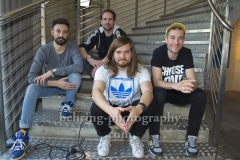 """BASTILLE"", Photocall am Tag nach dem Konzert in Verti Music Hall, n-how hotel, Berlin, 25.01.2019"