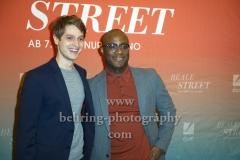 """""""BEALE STREET"""", Photocall zur Deutschland-Premiere mit  Autor und Moderator Benedict Wells und BARRY JENKINS, Kino International, Berlin, 17.01.2019"""