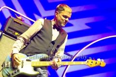 """BEATSTEAKS"", Torsten Scholz (Bass), Konzert, Parkbuehne Wuhlheide, Berlin, 25.08.2018 (Photo: Christian Behring)"