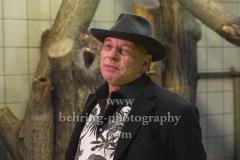 """""""Ben Becker - Affe"""", Pressekonferenz zum neuen Programm im Admiralspalast (18. - 20. 02.2020), Affenhaus im Tierpark, Berlin, 26.11.2019"""