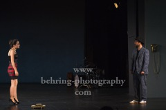"Taner Sahintürk, Sesede Terziyan,  ""Berlin Oranienplatz"", Fotoprobe im Maxim Gorki Theater, Berlin, am 26.08.2020, Premiere: 28.08.2020"
