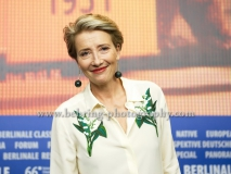 """Emma Thompson (Schauspielerin/ Actress), attends the """"ALONE IN BERLIN / JEDER STIRBT FUER SICH ALLEIN"""" - press conference at the 66th Berlinale, Berlin 15.02.16 [Photo: Christian Behring]"""
