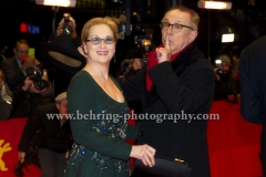 """Meryl Streep, Dieter Kosslick , attends the """"Closing Ceremony"""" - red carpet during 66th Berlinale International Film Festival at the Berlinale-Palast, 20.02.16 in Berlin, Germany,(Photo: Christian Behring, www.christian-behring.com)"""
