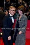Christoph Waltz and his wife, attend the Red Carpet of the OPENING CEREMONY during 64th Berlinale International Film Festival at Berlinale Palast on February 06, 2013 in Berlin, Germany, (Photo: Christian Behring, www.christian-behring.com)