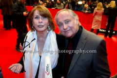 Senta Berger, Michael Verhoeven, attend the Red Carpet of the OPENING CEREMONY during 64th Berlinale International Film Festival at Berlinale Palast on February 07, 2013 in Berlin, Germany, (Photo: Christian Behring, www.christian-behring.com)