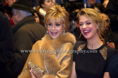 Jane Fonda, Heike Makatsch, attend the Red Carpet of the OPENING CEREMONY during 64th Berlinale International Film Festival at Berlinale Palast on February 07, 2013 in Berlin, Germany, (Photo: Christian Behring, www.christian-behring.com)