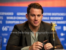 """Channing Tatum (Schauspieler/Actor), attends the """"Hail, Caesar!"""" - press conference at the 66th Berlinale, Berlin 11.02.16 (Photo: Christian Behring, www.christian-behring.com)"""