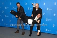 "Philipp Hochmair (Schauspieler/ Actor), Haendl Klaus (Regisseur/ Director), Lukas Turtur (Schauspieler/ Actor), attends the ""KATER / TOMCAT"" - photo call at the 66th Berlinale, Berlin 13.02.16 (Photo: Christian Behring, www.christian-behring.com)"