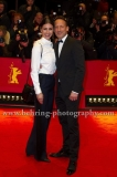 """Wotan Wilke Möhring and wife attends the """"DJANGO""""-Red Carpet at the 67th Berlinale International Film Festival at the Berlinale-Palast on Frebruary 09, 2017 in Berlin, germany"""