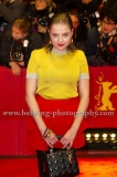 """Jella Hasse attends the """"DJANGO""""-Red Carpet at the 67th Berlinale International Film Festival at the Berlinale-Palast on Frebruary 09, 2017 in Berlin, germany"""