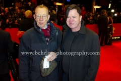 """Hark und Uwe Bohm attends the """"DJANGO""""-Red Carpet at the 67th Berlinale International Film Festival at the Berlinale-Palast on Frebruary 09, 2017 in Berlin, germany"""
