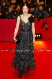 """Hannah Herzsprung attends the """"DJANGO""""-Red Carpet at the 67th Berlinale International Film Festival at the Berlinale-Palast on Frebruary 09, 2017 in Berlin, germany"""