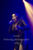 """BEYOND THE BLACK"", Jennifer Haben (Gesang), Konzert in der Columbia Halle, Berlin, 08.12.2018,"