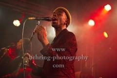 """Saenger und Songwriter Eric Burton, """"BLACK PUMAS"""", Konzert der """"Band der Stunde"""" im ausverkauften Frannz Club, Berlin, 12.11.2019"""