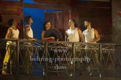 """CARMEN LA CUBANA"" (04-10-.14.10.2018 in Berlin), Luna Manzanares (Carmen), Berlin-Premiere, Admiralspalast, Berlin, 04.10.2018"