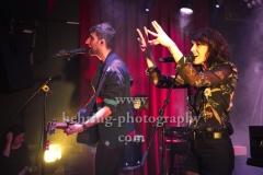 """CARROUSEL"", Sophie Burande und Leonard Gogniat, Konzert im Privatclub, Berlin, 21.11.2017 (Photo: Christian Behring)"