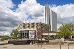 Stadthalle Chemnuitz, Brueckenstrasse, Chemnitz, 09.05.2019