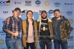 "JAMES BARKER BAND, ""COUNTRY TO COUNTRY"", Festival, Photo Call und Pressekonferenz mit den Musikern im UCI LUXE Cinema, Berlin, 02.03.2019"