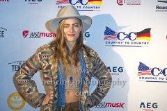 "Lauren Jenkins, ""COUNTRY TO COUNTRY"", Festival, Photo Call und Pressekonferenz mit den Musikern im UCI LUXE Cinema, Berlin, 02.03.2019"