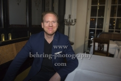 """""""Daniel HOPE"""", Photocall und Interview zum neuen Album """"Journey To Mozart"""" (veroeffentlicht am 09.02.2018), Restaurant GROSZ, Berlin, 13.02.2018 (Photo: Christian Behring)"""