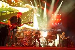 """DEEP PURPLE"", Roger Glover, Ian Paice, Ian Gillan, Don Airey, Steve Morse, ""The Long Goodbye Tour"", Konzert in der Mercedes-Benz Arena, Berlin, 13.06.2017 (Photo: Christian Behring)"
