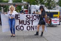 """""""Rettet die Veranstaltungsbranche"""", Demonstration vom Frankfurter Tor zum Oranienplatz in Berlin, 10.07.2020"""
