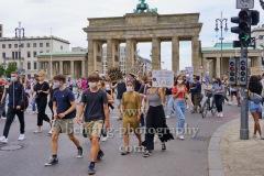 """""""Demos in Berlin"""", Berlin, 04.07.2020"""