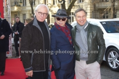 "Wolf Bauer, Dieter Kosslick, Nico Hofmann, attends the ""Der gleiche Himmel"" Premiere at the 67th BERLINALE, Berlin, 16.02.2017 [Photo: Christian Behring]"