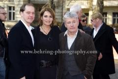 "Godehard Giese (Schauspieler), Anja Kling (Schauspielerin/ Actress), Joerg Schuettauf (Schauspieler/Actor), attends the ""Der gleiche Himmel"" Premiere at the 67th BERLINALE, Berlin, 16.02.2017 [Photo: Christian Behring]"