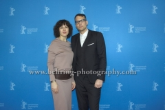 "Walter Mair (Musik), Vesselina Tchakarova (Musik), attends the ""Der gleiche Himmel"" Premiere at the 67th BERLINALE, Berlin, 16.02.2017 [Photo: Christian Behring]"