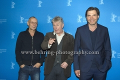 "Torsten Michaelis (Schauspieler), Joerg Schuettauf (Schauspieler/Actor), Max Hopp (Schauspieler), attends the ""Der gleiche Himmel"" Premiere at the 67th BERLINALE, Berlin, 16.02.2017 [Photo: Christian Behring]"