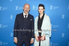 "Oliver Hirschbiegel (Regisseur/ Director), Friederike Becht (Schauspielerin/ Actress), attends the ""Der gleiche Himmel"" Premiere at the 67th BERLINALE, Berlin, 16.02.2017 [Photo: Christian Behring]"