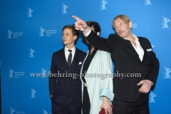 "Tom Schilling (Schauspieler/Actor), Friederike Becht (Schauspielerin/ Actress), Ben Becker (Schauspieler/Actor), attends the ""Der gleiche Himmel"" Premiere at the 67th BERLINALE, Berlin, 16.02.2017 [Photo: Christian Behring]"