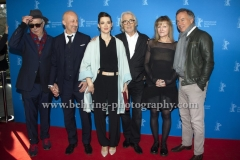 "Dieter Kosslick, Oliver Hirschbiegel (Regisseur/ Director), Friederike Becht (Schauspielerin/ Actress), Reinhold Elschot, Paula Milne (Creator, Drehbuchautorin / Creator, Screenwriter), Nico Hofmann, attends the ""Der gleiche Himmel"" Premiere at the 67th BERLINALE, Berlin, 16.02.2017 [Photo: Christian Behring]"
